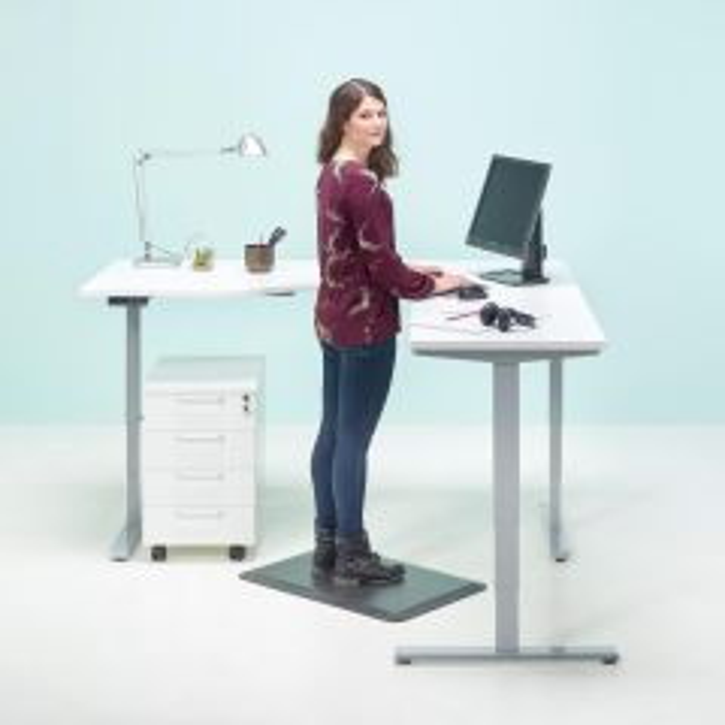Sähkösäädettävä kulmapöytä Classic Flex
